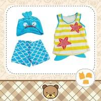 Baju Renang Anak 3in1