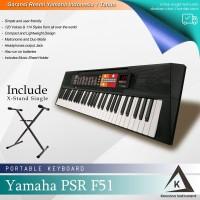 Keyboard Yamaha PSR F51 + Stand / PSRF51 / PSR-F51 Resmi -untuk pemula