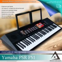 Keyboard Yamaha PSR F51 / PSRF51 / PSR-F51 Resmi - untuk pemula