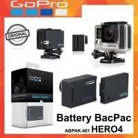 Stock terbatas Gopro Battery BacPac Hero4 - Original Diskon