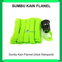 Kain Flanel Potong (Hidroponik Sistem Wick) isi 50pcs