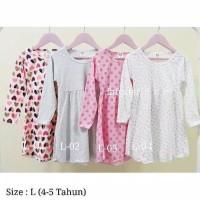 Termurah Dress Tasya L ( 4-5 Tahun) Baju Anak Perempuan Muslim Terbaru