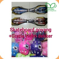 (Exclusive) Skateboard snakeboard Goyang 2 Roda kANSA ORIGINAL