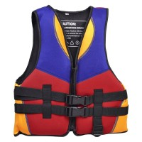 Red Blue Orange Water Sports Swimming Life Jacket Vest Size S for