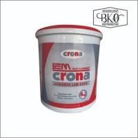 Lem crona 234 laminasi jointing lem kayu waterbased 4kg Berkualitas