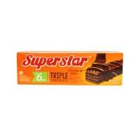 ROMA SUPERSTAR TRIPLE CHOCOLATE 6X18G (1C=30PCS)