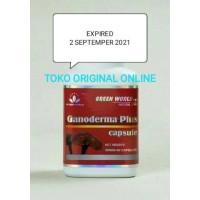 Dijual Ganoderma Plus Green World/Obat Kanker/Obat Tumor Diskon