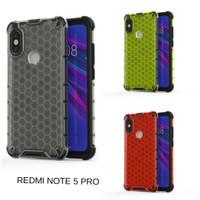 Casing Hardcase Honeycomb Xiaomi Redmi Note 5 Pro Hard Back Case