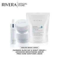 Rivera Endless Bright Serum + Day Cream + Night Cream Free HS 300ml