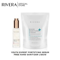 Rivera Youth Expert Fortifying Serum 50ml Free Hand Sanitizer 300ml