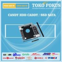 CANDY HDD harddisk caddy 9.5mm SSD sata for laptop / notebook 9.5 mm