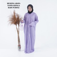 mukena murah traveling parasut abaya terusan