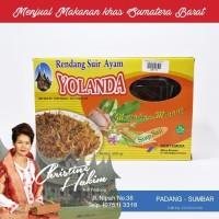 Rendang Suir Ayam Yolanda 200g / Randang Daging Ayam Suwir Khas Padang