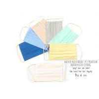 [1 lusin] MASKER ANAK kain 3 PLY Bahan Katun Jepang Premium