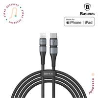 Baseus BMX PD MFI Type C To Lightning Cable Kabel Data PD Fast Chargin - 1.8M, Grey