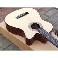 Gitar akustik Yamaha Hitam bonus tas dan senar