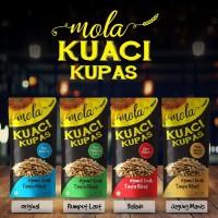 Mola Kuaci - Kuaci Kupas Paket Komplit 4 Variant Snack Sehat Kekinian