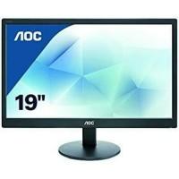 monitor LED AOC 19IN E970SWNL RESMI 3THN asli baru