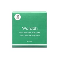 Wardah Exclusive Two Way Cake 01 Sheer Pink 12 g