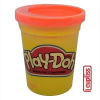 Play Doh Dough Can 4 OZ Orange 112 Gr PlayDoh Original Compound