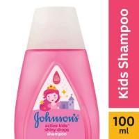 johnson baby shampoo shiny drops 100 ml