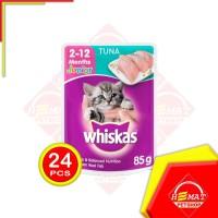 Makanan Kucing Whiskas Junior Tuna 85 Gram / Sachet / Pouch