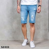 celana jeans pria/celana pendek/short jeans/ripped jeans