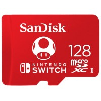 Sandisk MicroSDXC Card U3 For NINTENDO SWITCH - 128GB (4K Ultra HD)