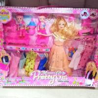 mainan boneka barbie frozen