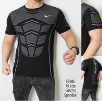 KAOS BODY NIKE / baju olahraga gym fitnes training Running Compression