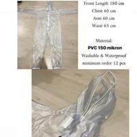 Baju Seragam Hazmat APD Operasi Medis Corona Disposable Surgical Gown