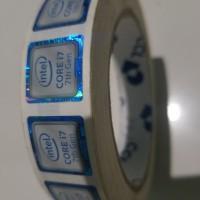 Aksesoris komputer laptop sticker intel core i7 7700 kabylake 1151
