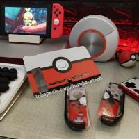 Fit Dock Pokeball Nintendo Switch Mika Case / Casing red white - Uogo