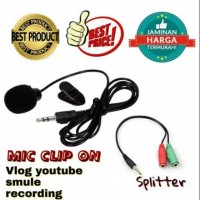 Mic Clip on and spliter cable
