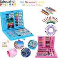 68Pcs Complete Child Coloring Set / Set Mewarnai Anak Full Color