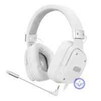 Headset Gaming Sades SA-722s SnowWolf / Headphone Gaming Snow Wolf