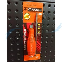 Camel Promo Obeng Ketok Blister Orange 304 2 in 1 Plus Minus Termurah