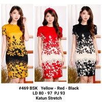 Dress kerja wanita /Batik Dress Simple Murah