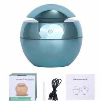 DELIXING Ultrasonic Air Humidifier Aromatherapy USB 130ml - BLUE