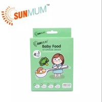 Sunmum baby food storage bag