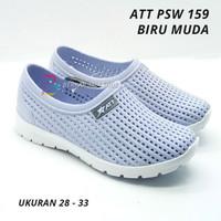 Sepatu Anak Karet / Sepatu Slip On Karet Anak Perempuan ATT PSW 159