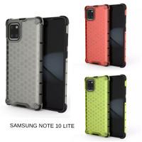 Casing Hardcase Honeycomb Samsung Note 10 Lite Hard Back Case