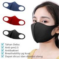 black mask masker scuba bahan premium