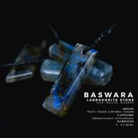 Baswara - Kalung alami batu labradorite