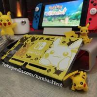 Fit Dock Pikachu Eevee Nintendo Switch Mika Case / Casing - Uogo