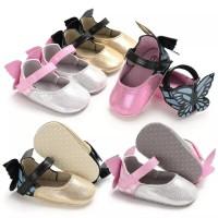 sepatu prewalker bayi anak perempuan BUTTERFLY