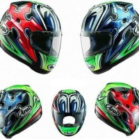 Helm Full Face Arai RX7X Nakano Shuriken Green SNI Made In Japan