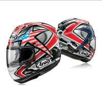 Helm Full Face Arai RX7X Hayden Laguna Seca SNELL SNI Made in Japan