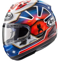 Helm Full Face Arai RX7X Pedrosa Spirit Blue SNELL SNI Made In Japan