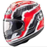 Helm Full Face Arai RX7X Randy Mamola Edge Red SNI SNELL Made in Japan